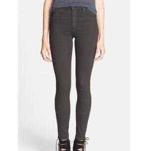 Hudson Jeans Barbara High Waisted Skinny Brown